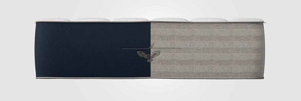 Dark-light composite Owl and Lark mattress