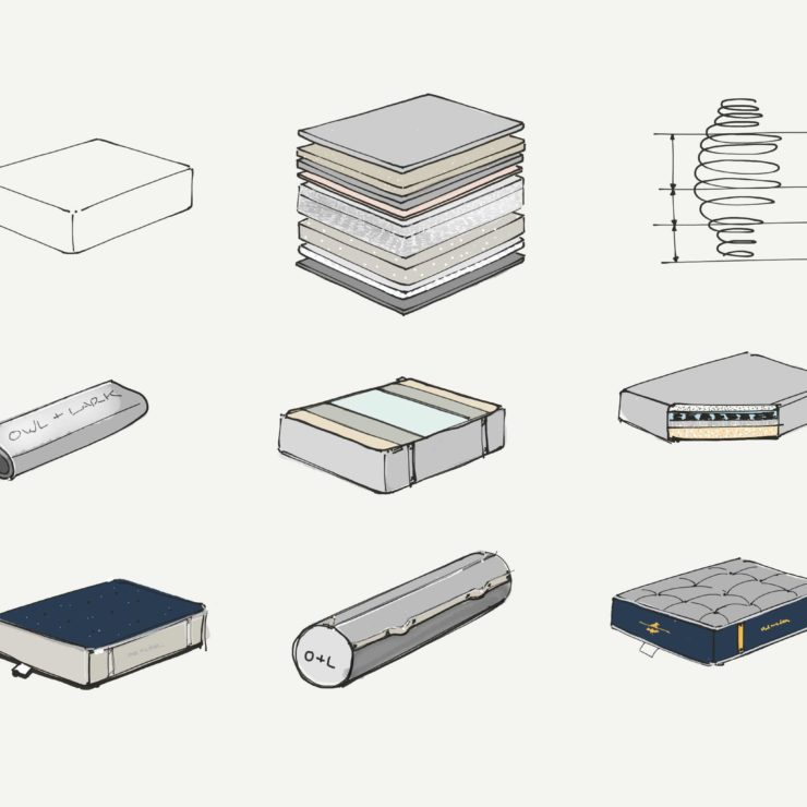 mattress sketches